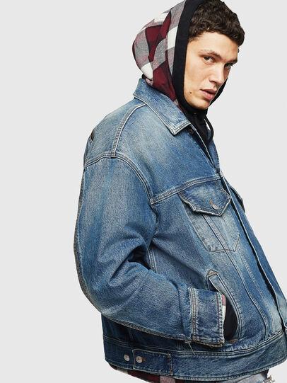 Diesel - D-LORY,  - Giacche in denim - Image 6