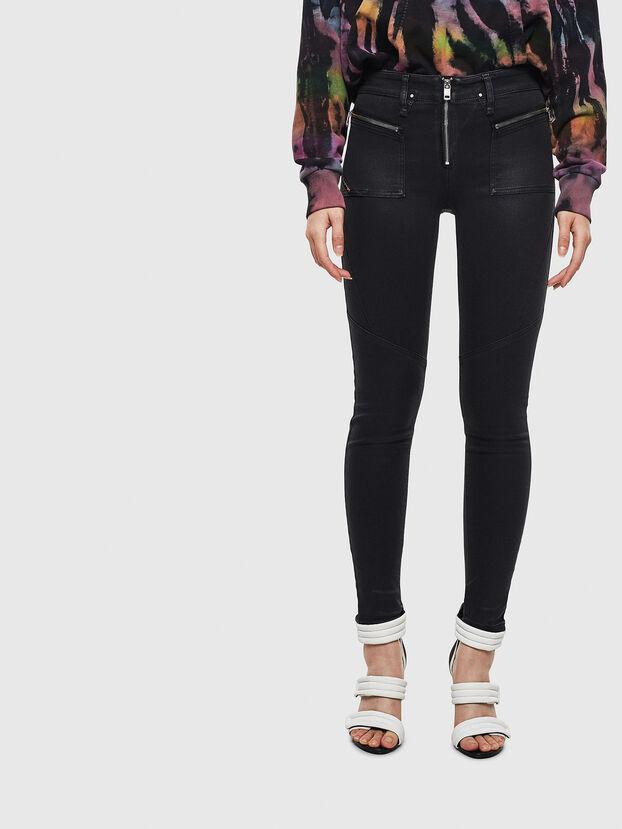 Slandy 069JT, Nero/Grigio scuro - Jeans
