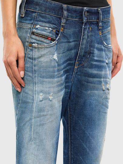 Diesel - Fayza 009LF, Blu medio - Jeans - Image 4
