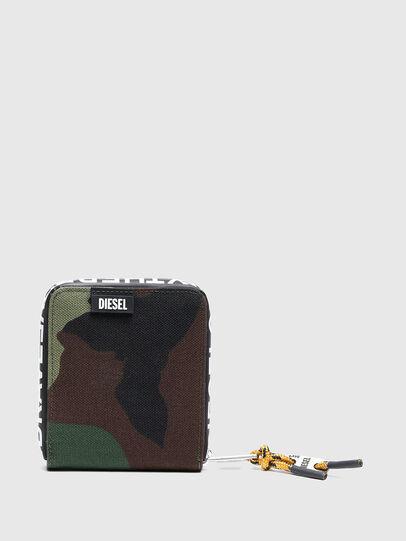 Diesel - HIRESH XS ZIPPI, Multicolor/Marrone - Portafogli Con Zip - Image 1