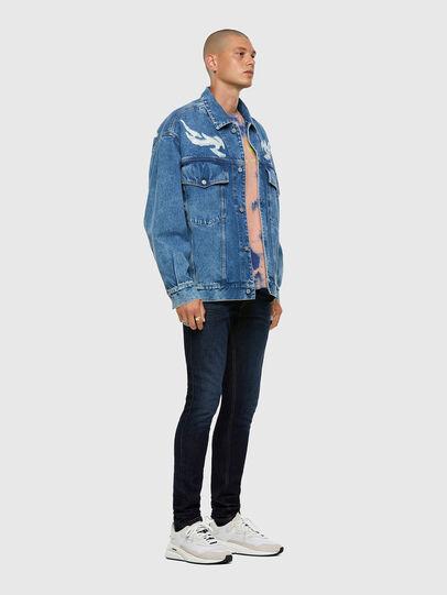 Diesel - D-Luster 009EQ, Blu Scuro - Jeans - Image 5