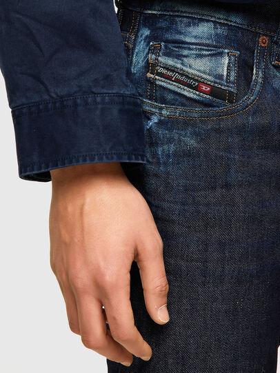 Diesel - D-Strukt 09A20, Blu Scuro - Jeans - Image 4