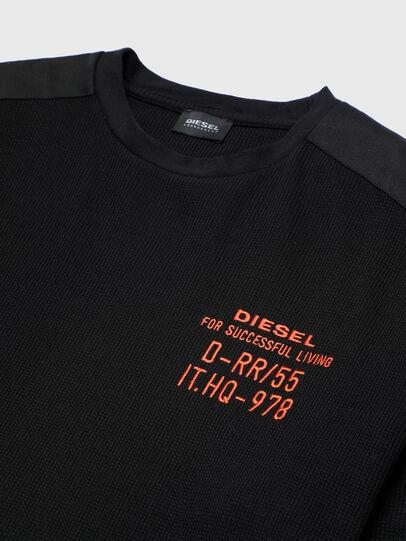 Diesel - UMLT-WILLY-W, Nero - Felpe - Image 3