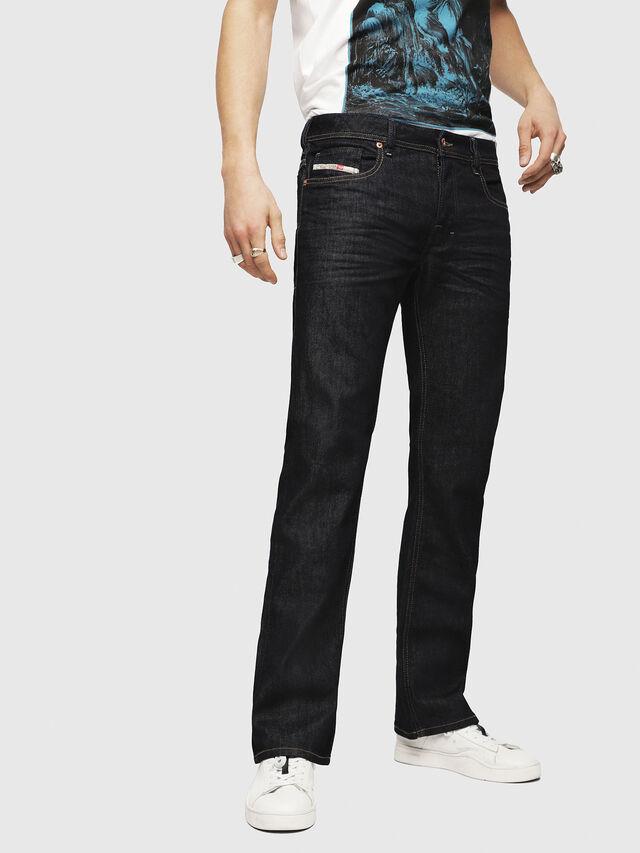 Diesel - Zatiny 084HN, Blu Scuro - Jeans - Image 1