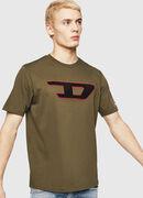 T-JUST-DIVISION-D, Verde Militare - T-Shirts