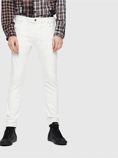 Diesel - Krooley JoggJeans 088AZ, Bianco - Jeans - Image 1