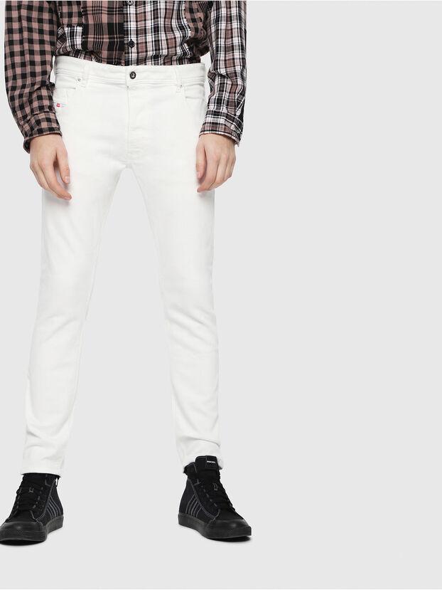 Krooley JoggJeans 088AZ, Bianco - Jeans