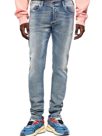 Diesel - Sleenker 009KL, Blu medio - Jeans - Image 1