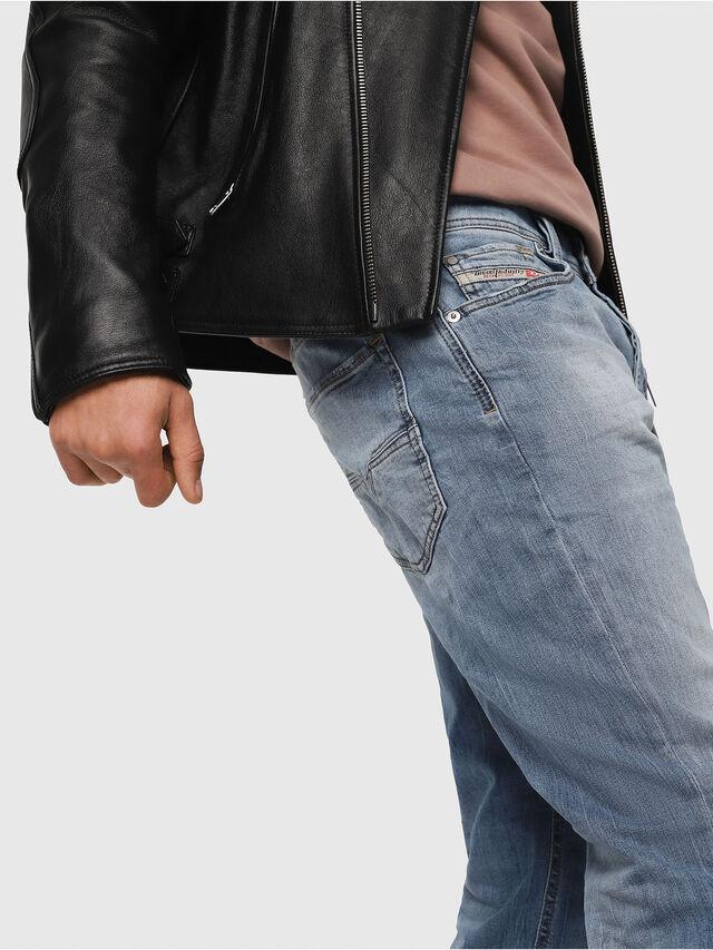 Diesel - Larkee-Beex 081AL, Blu Chiaro - Jeans - Image 4