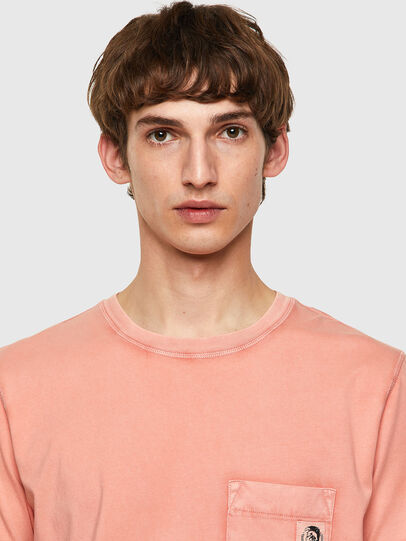Diesel - T-WORKY-MOHI-B1, Rosa - T-Shirts - Image 3
