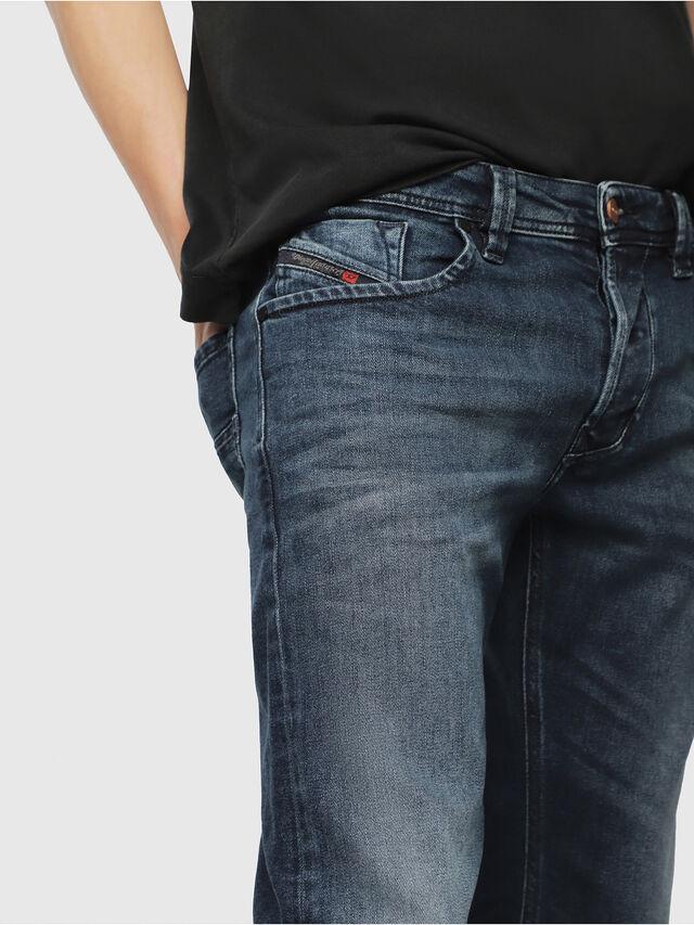 Diesel - Larkee 087AS, Blu Scuro - Jeans - Image 3
