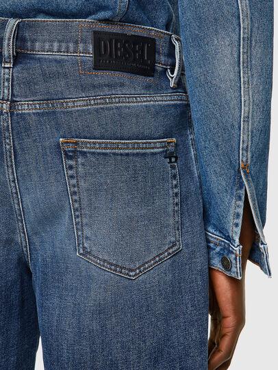 Diesel - D-STRUKT-SHORT, Blu medio - Shorts - Image 3