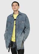D-LOREN, Blu Jeans - Giacche in denim