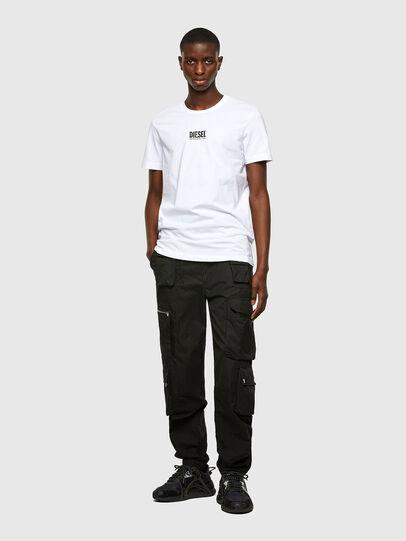 Diesel - T-DIEGOS-SMALLOGO, Bianco - T-Shirts - Image 4