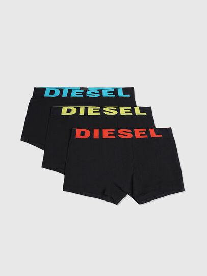 Diesel - UMBX-SHAWNTHREEPACK, Nero Brillante - Boxer stretch - Image 1