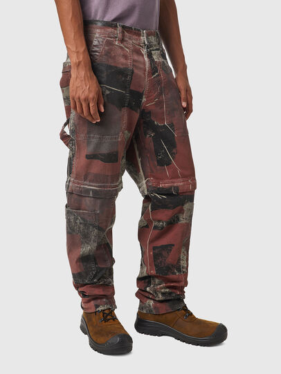 Diesel - D-Multy JoggJeans® 0CEAM, Rosa/Nero - Jeans - Image 5