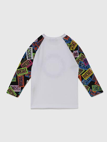 Diesel - TENTYB-R, Bianco - T-shirts e Tops - Image 2