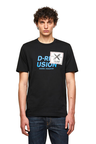 T-shirt con stampa Diesel Industry
