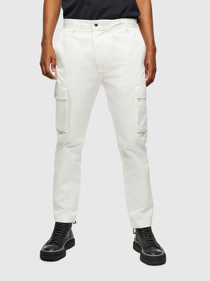 P-JARED-CARGO, Bianco - Pantaloni