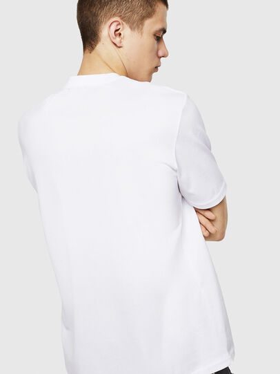 Diesel - T-JUSTY, Bianco - T-Shirts - Image 2