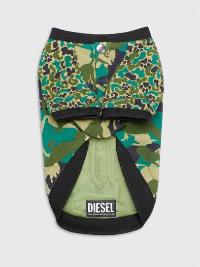 Diesel - PET-WOLF-CMF, Verde Camo - Altri Accessori - Image 4