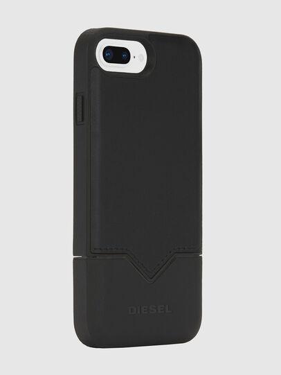 Diesel - CREDIT CARD IPHONE 8 PLUS/7 PLUS/6S PLUS/6 PLUS CASE, Nero - Cover - Image 4