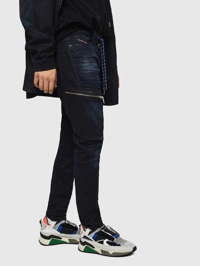 Diesel - D-Vider JoggJeans 069IC, Blu Scuro - Jeans - Image 5