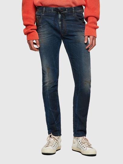 Diesel - Krooley JoggJeans® 069WR, Blu Scuro - Jeans - Image 1
