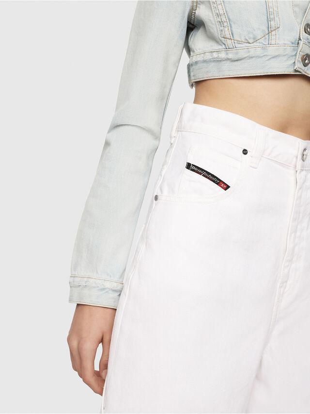 Diesel - D-Luite 069EE, Bianco - Jeans - Image 3