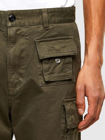 Diesel - P-COR, Verde Militare - Pantaloni - Image 3