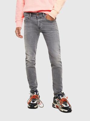 Sleenker 0095E, Nero/Grigio scuro - Jeans