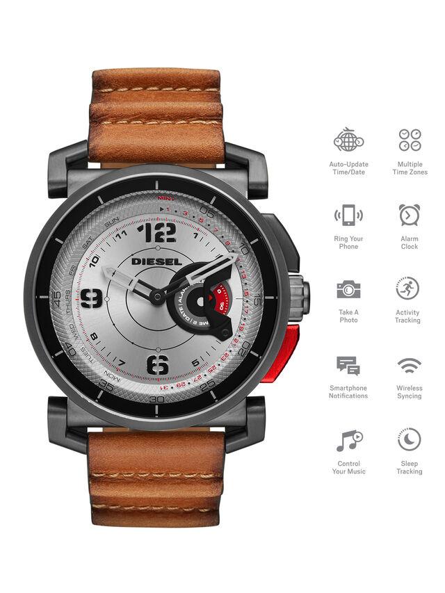 Diesel - DT1002, Marrone - Smartwatches - Image 1