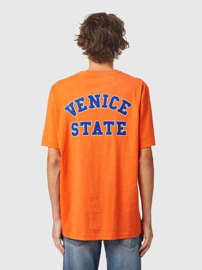 Diesel - T-JUST-B85, Arancione - T-Shirts - Image 2