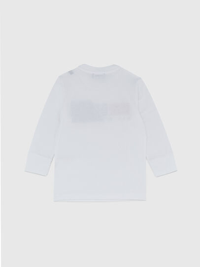 Diesel - TDIEGOCUTYB ML-R, Bianco - T-shirts e Tops - Image 2