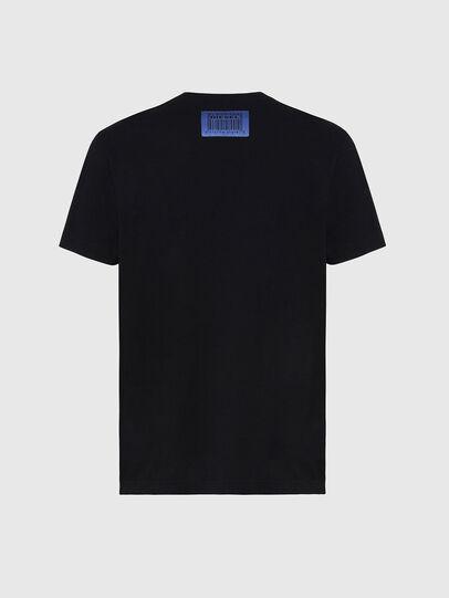 Diesel - T-DIEGOS-X70, Nero - T-Shirts - Image 2