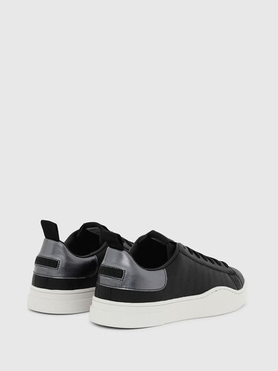 Diesel - S-CLEVER LOW LACE, Nero/Argento - Sneakers - Image 3