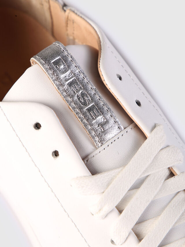 Diesel - S-NENTISH LC W, Bianco - Sneakers - Image 4