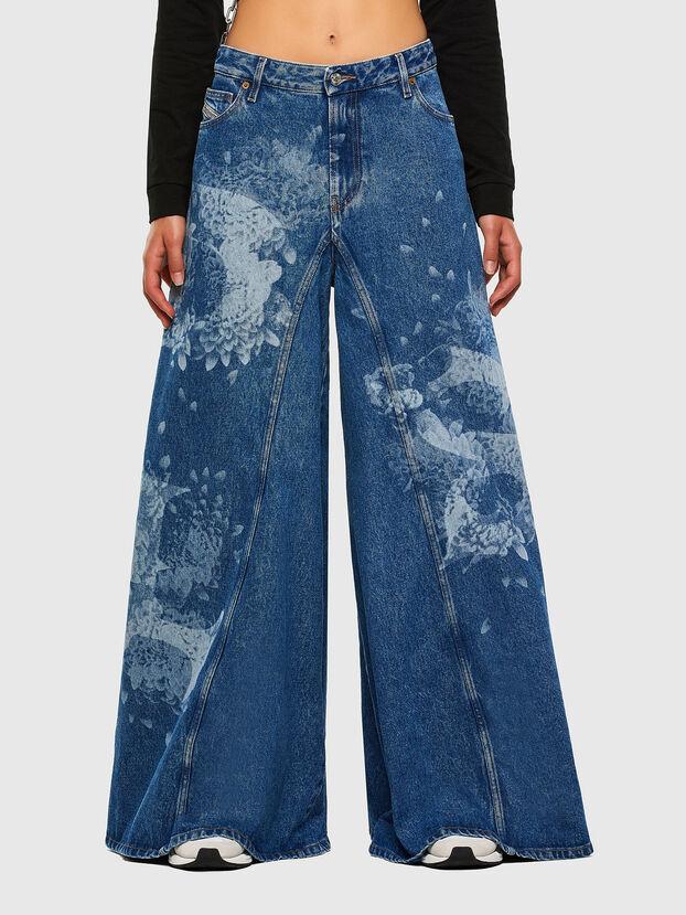 D-Spritzz 009GV, Blu medio - Jeans