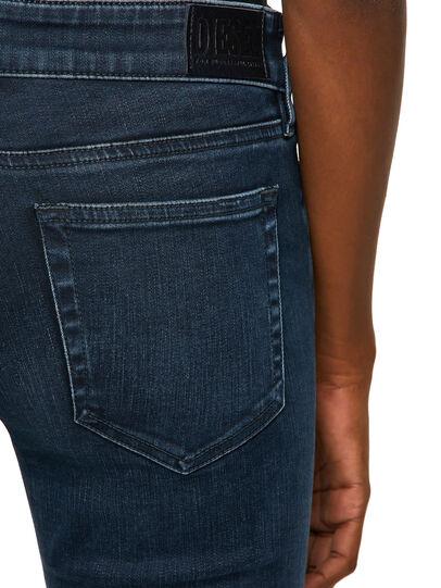 Diesel - Slandy Low 009QF, Blu Scuro - Jeans - Image 4