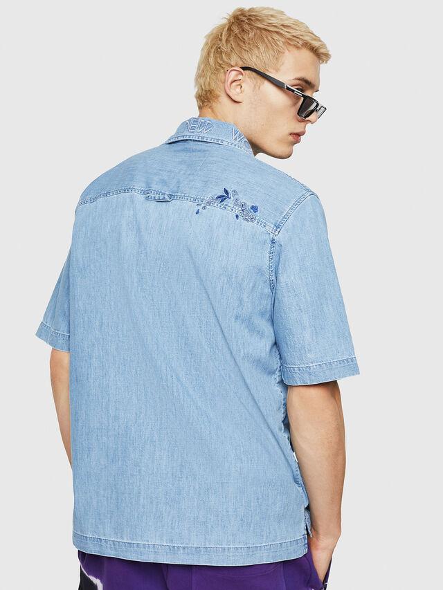Diesel - D-RASHI, Blu Jeans - Camicie in Denim - Image 2