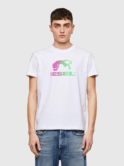 Diesel - T-DIEGOS-E30, Bianco - T-Shirts - Image 1