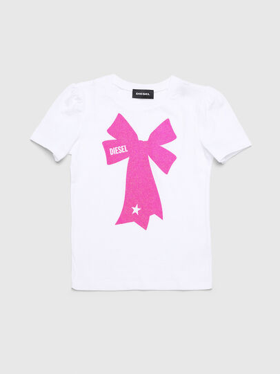 Diesel - TASHAB-R, Bianco - T-shirts e Tops - Image 1