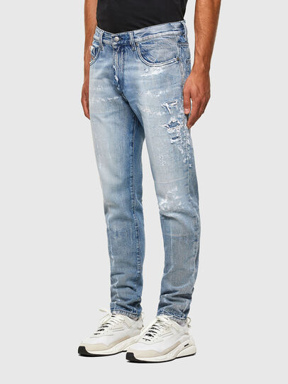 Diesel - D-Strukt 009KH, Blu Chiaro - Jeans - Image 7