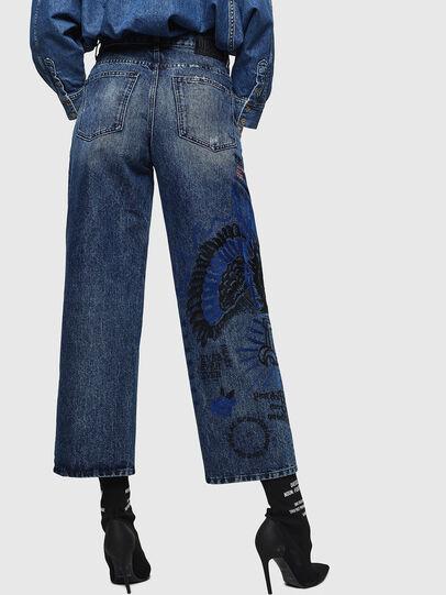 Diesel - Widee 0092Z, Blu medio - Jeans - Image 2