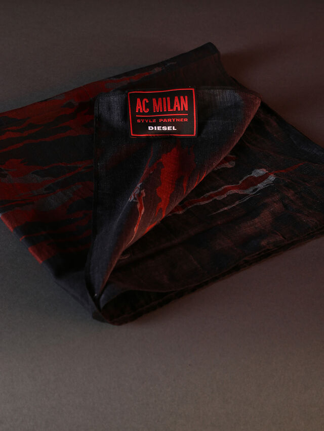DVL-BANDANA-SPECIAL COLLECTION, Rosso/Nero