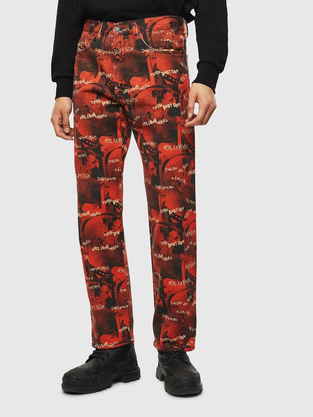 D-Macs 069KR, Rosso - Jeans