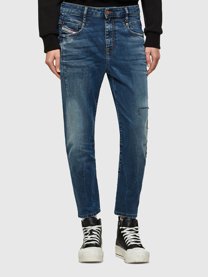 Diesel - Fayza JoggJeans® 069SZ, Blu Scuro - Jeans - Image 1