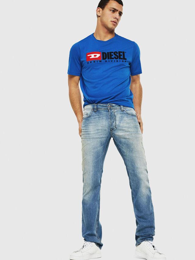 Diesel - Safado C81AP, Blu Chiaro - Jeans - Image 5