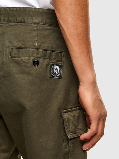 Diesel - P-COR, Verde Militare - Pantaloni - Image 5