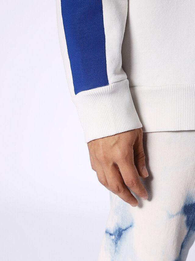 S-BAY, Bianco/Blu